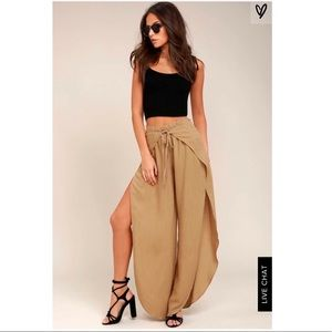 Lulus Wide Leg Pants